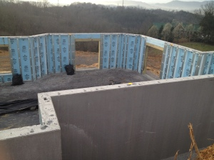 Sevier county contractor ken loomis construction for Superior wall foundation